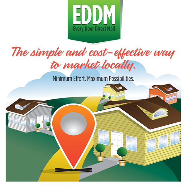 Local EDDM Full Service for Small Business in Tarzana, Pasadena, and Los Angeles