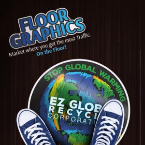Adhesive Floor Vinyl - Floor Graphics