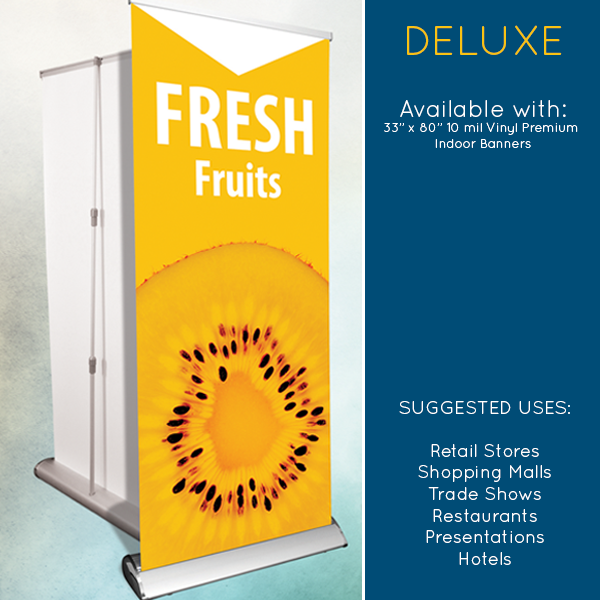 Deluxe Banner Stands in Tarzana, Pasadena, and Los Angeles