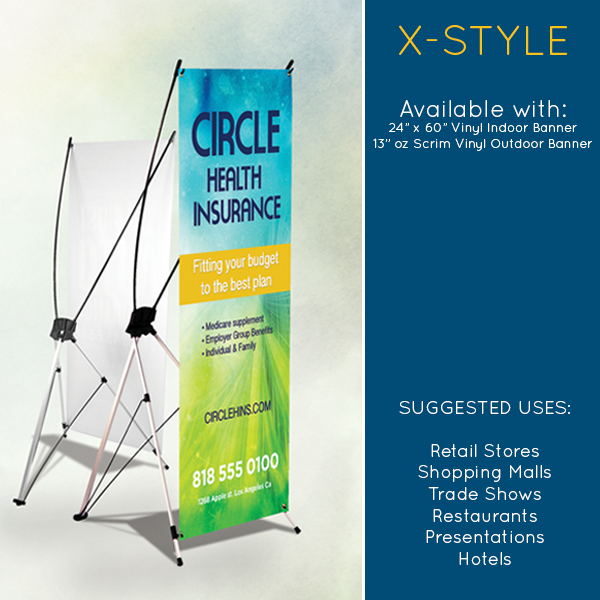 Banner Stands Available