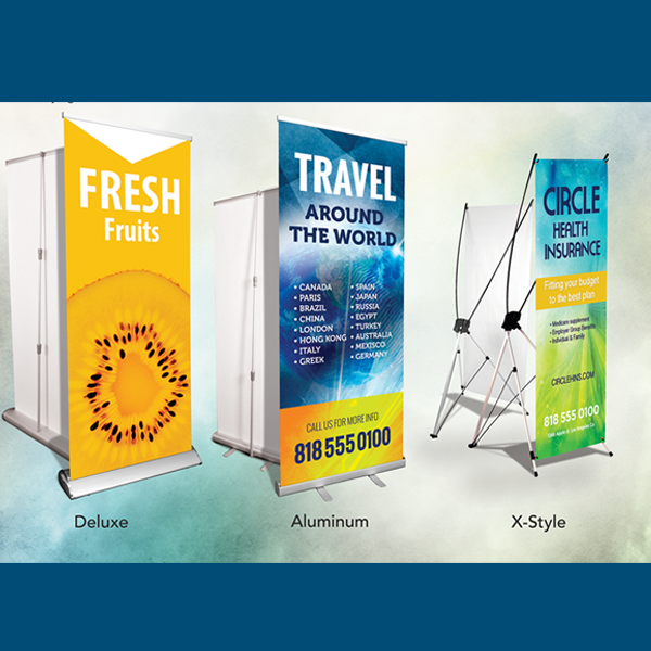 Banner Stands for sale in Tarzana, Pasadena, and Los Angeles