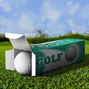 THE PRINT BOX - Golf Ball Boxes Printing