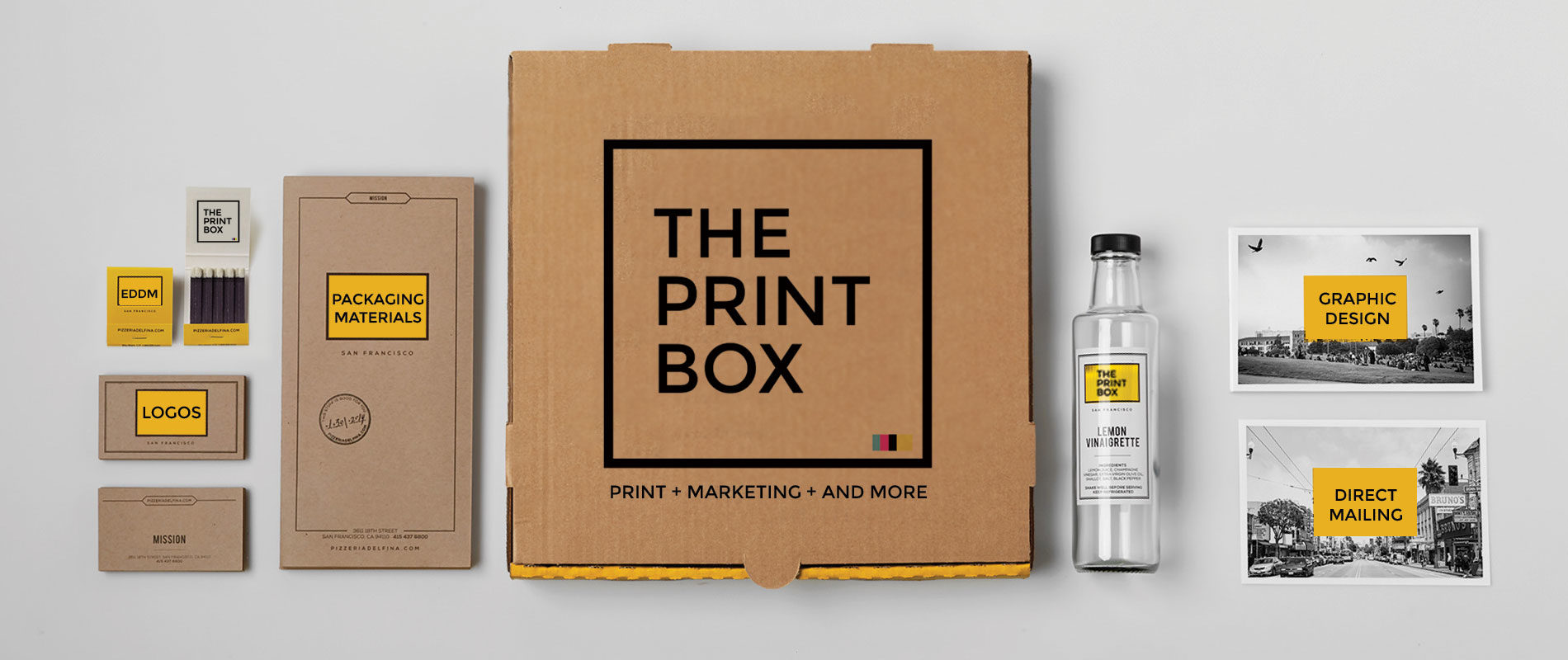 THE PRINT BOX - Printing, Marketing, And More...