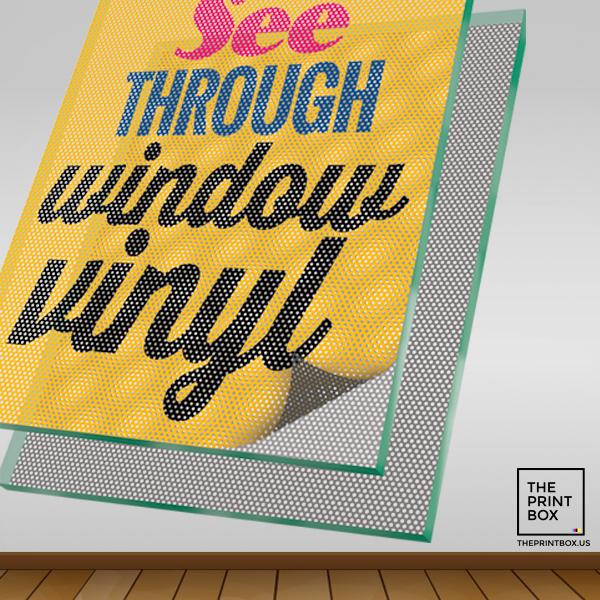 Window Vinyl Signs