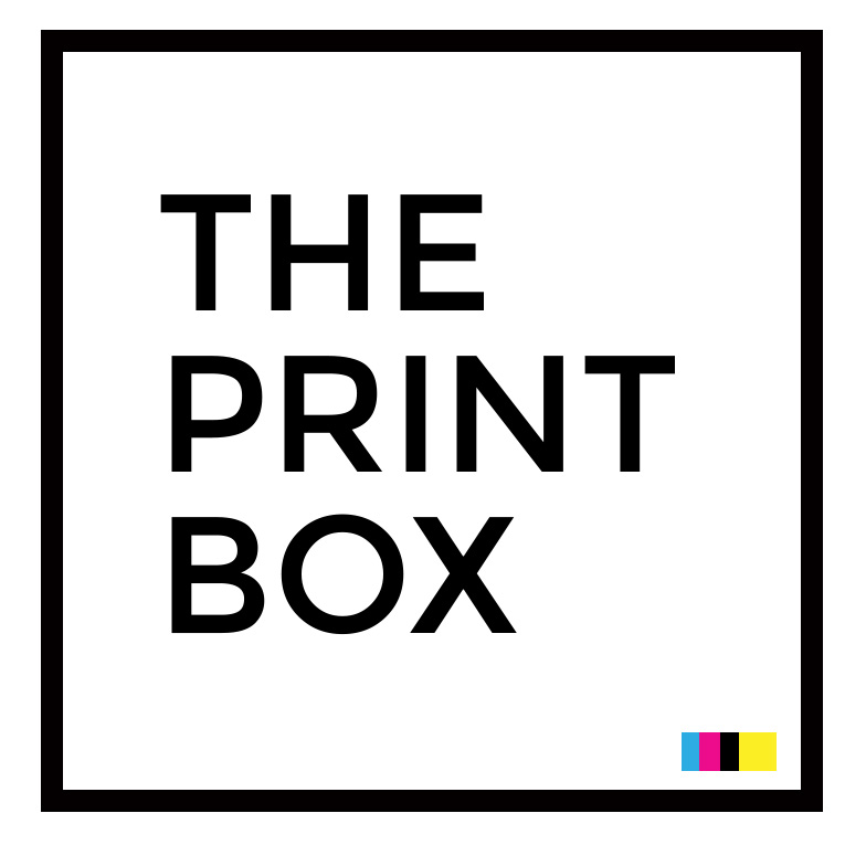 THE PRINT BOX - (877) 573 7778 Logo